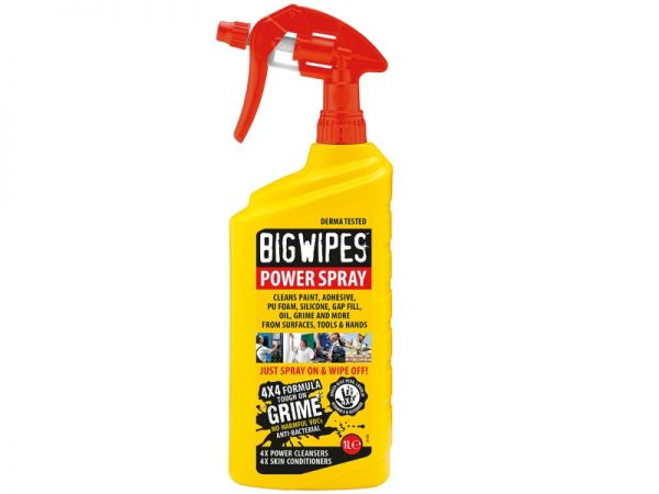 Big Wipes Power Spray 1ltr